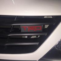 Emblem TRD untuk Grill Fortuner