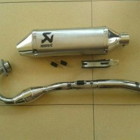 KNALPOT RACING AKRAPOVIC FOR FOR KLX 150/250