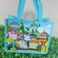 Tas Ultah/Souvenir/Goodie bag Ready Stock Robocar Poli Pokemon Baymax