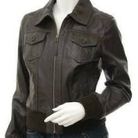 jaket semi kulit wanita Diskon