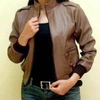 jaket kulit wanita Diskon