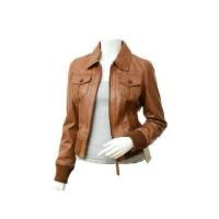 jaket semi kulit wanita style korea Limited