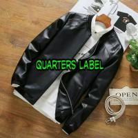 jaket kulit trendy korea Limited