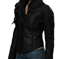 jaket kulit sintetis wanita Berkualitas