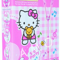 MICROPHONE DOUBLE HELLO KITTY 5872