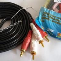 Kabel RCA 3 meter 2 Way