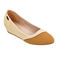 Flat Shoes La Viola Cream