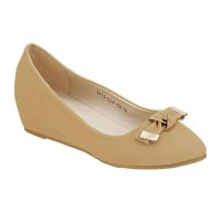 Flat Shoes Casual La Viola Camel