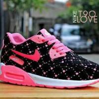 Sepatu Nike Airmax T90 Love Woman Jogging Running