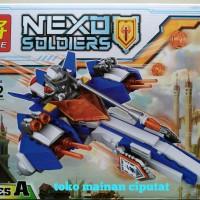 NEXO knight paket 2 karakter pesawat. LELE 32002