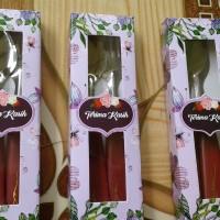 souvenir pernikahan sendok garpu box