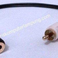 Kabel 3,5mm Female to 2 RCA Howell
