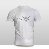 kaos baju pakaian musik grup bon jovi band murah