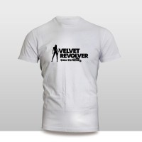 Kaos Baju Pakaian Musik Grup velvet revolver Band Murah