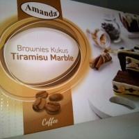 Brownies Kukus Amanda - Rasa Tiramisu Marble