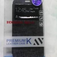 leather case flip cover view original ume meizu m2 note