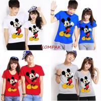 Kaos Couple Mickey Yes