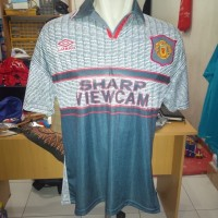 jersey retro grade AAA thailand manchester united away 1995/1996