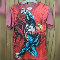 Kaos Distro Superman (Merah)