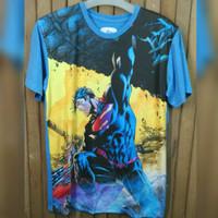 Kaos Distro Superman (Biru)