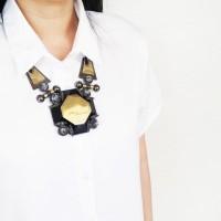 Kalung Fashion Etnik Kotak Hermes Inspired