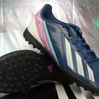 Sepatu Futsal Anak Adidas F5 TRX TF Blue Black Junior/Kids (ORIGINAL)