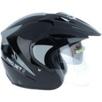 Helm MDS Projet 2 Double Visor Half Face Black