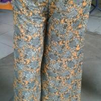 celana kulot motif batik/kulot panjang batik
