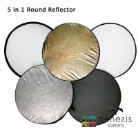 5-in-1 Collapsible Reflector Disc - 80cm