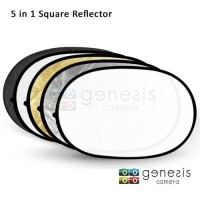 5-in-1 Collapsible Reflector Disc - 100cm x 150cm / Reflector Oval