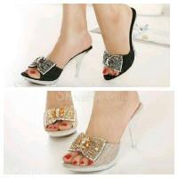 high heel pesta gliter