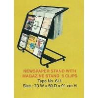 Rak Koran + Majalah 611
