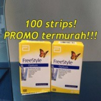 Refill Abbot Freestyle Optium isi 100 Test Strips TERMURAH