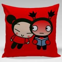 Bantal Sofa / dekorasi / couple / pasangan - Pucca and garu