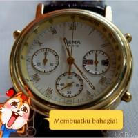 """jam antik merk yema france"""" chronograph"""