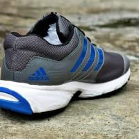 Sepatu Sport Pria Adidas Duramo 7 / Abu-Abu Biru / Running Joging