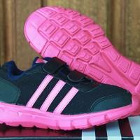 SEPATU RUNNING ANAK Adidas Climacool Junior Hitam Sol Pink