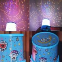 Lampu Proyektor / lampu tidur proyektor / star master Doraemon