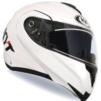 Helm KYT RRX Modular Full Face White Fullface Double Visor