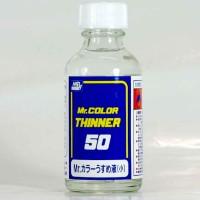 Mr color T-101 Thinner 50 ml - cat Gundam model kit thinn