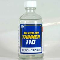 Mr color T-102 Thinner 110ml - cat Gundam model kit thinn
