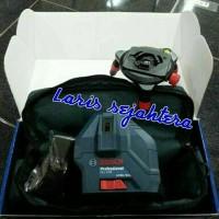 Line Laser level Bosch GLL 5 - 50 / cross level Bosch / alat ukur