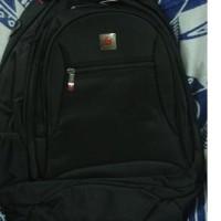 Tas Backpack Ransel Laptop Polo Classic 2028 dapat raincoat
