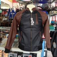 "JACKET KULIT fashion slim-fit"" ORIGINAL"