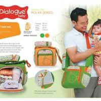 Tas Perlengkapan Bayi Dialogue Polka Series DGT 7234