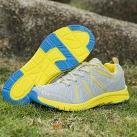 Sepatu Outdoor/Running/Olahraga Merek KETA 188 Warna Grey Yellow