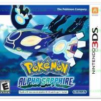 3DS Pokemon Alpha Sapphire (Usa / Asia)