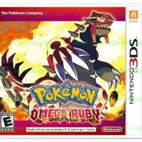 3DS Pokemon Omega Ruby (Usa / Asia)