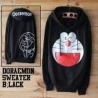 Sweeter-DORAEMON-Hoodie-Black