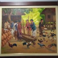 Lukisan Nu-Tu, karya Cak Min